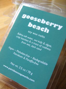 Gooseberry Beach Soy Wax Melts - Salt Water, Kelp, Bamboo... Summer Limited Edition