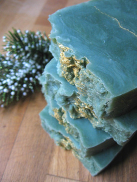 O! Tannenbaum Hot Process Soap - Fresh Christmas Trees, Orange & Clove... Yuletide Limited Edition