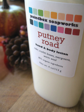 Putney Road Organic Hand and Body Lotion - Apple Cider, New England Woods, Wool Sweaters... Weenie Limited Edition