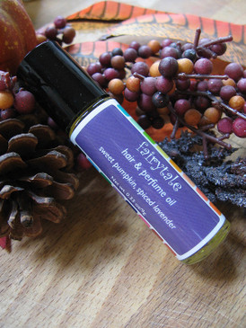 Fairytale Hair & Perfume Oil - Sweet Pumpkin, Spiced Lavender... Weenie Limited Edition