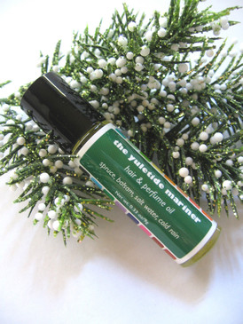 The Yuletide Mariner Hair & Perfume Oil - Spruce, Balsam, Salt Water, Cold Rain... Yuletide Limited Edition