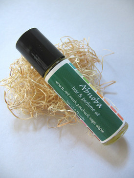 Abnoba Hair & Perfume Oil - Deep Forest Woods, Patchouli, Red Musk, Wild Apple, Sage...