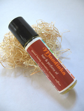 Mandinka Hair & Perfume Oil - Spiced Honey, Carnation, Incense, Saffron...