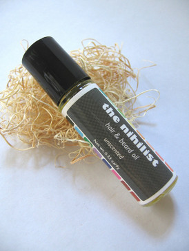 The Nihilist Hair & Beard Oil - Unscented...