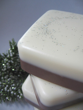 Hearthside Luxury Glycerin Soap - Hot Cocoa, Sweet Wood Smoke, Bayberry... Yuletide Limited Edition