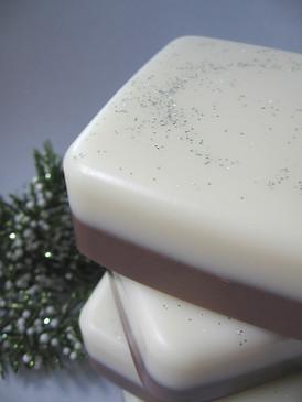 Hearthside Luxury Glycerin Soap - Hot Cocoa, Sweet Wood Smoke, Bayberry... Yuletide Limited Edition