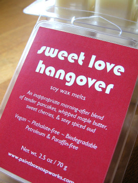 Sweet Love Hangover Soy Wax Melts - Warm Pancakes, Maple Butter, Sweet Cherry, Spiced Oud... Midwinter Limited Edition