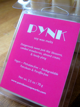 Pynk Soy Wax Melts - Pink Lilac, Strawberry, Almond Cream, Ylang... Spring Limited Edition