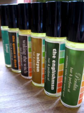 Lavender Truffle Hair & Perfume Oil - Dark Chocolate, Lavender, Vanilla...