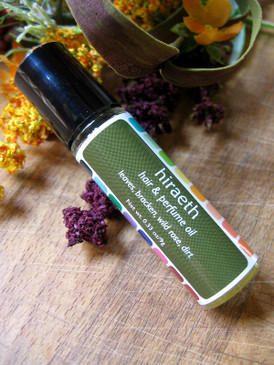 Hiraeth Hair & Perfume Oil - Leaves, Bracken, Wild Rose, Dirt... Weenie Limited Edition