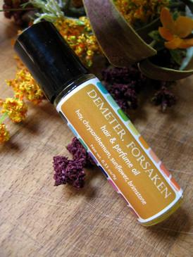 Demeter, Forsaken Hair & Perfume Oil - Hay, Chrysanthemum, Sunflower, Brimstone... Weenie Limited Edition