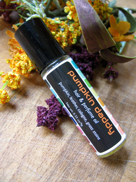 Pumpkin Daddy Hair & Perfume Oil - Pumpkin, Leather, Cologne, Grass Stains... Weenie Limited Edition