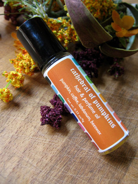 Cathedral of Pumpkins Hair & Perfume Oil - Pumpkin, Coffee, Labdanum, Beeswax... Weenie Limited Edition