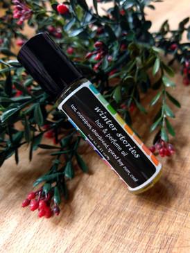 Winter Stories Hair & Perfume Oil - Tea, Bay Rum, Marzipan, Coal Dust... Yuletide Limited Edition