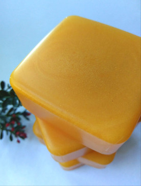 Sozzled Luxury Glycerin Soap - Kentucky Bourbon, Tea, Lemon, Orange, Honey... Yuletide Limited Edition