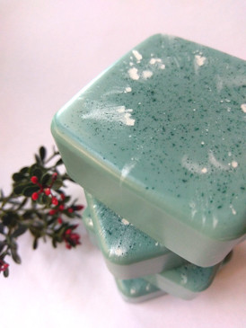 The Mari Lwyd Luxury Glycerin Soap - Frozen Seaweed, Wool, Salt Water, Thyme... Yuletide Limited Edition