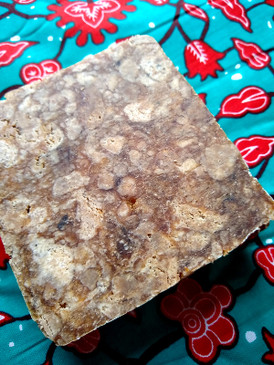 From Ghana With Love: Handmade African Black Soap - Shea Butter, Coconut & Palm Kernel Oil, Cocoa Ash... BSF Benefit Bar