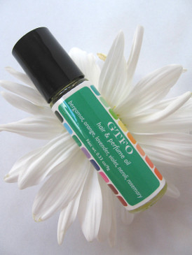 GTFO Hair & Perfume Oil - Bergamot, Orange, Lavender, Violet, Neroli, Rosemary...