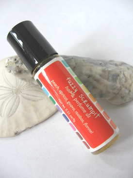 Fuzzy Scrumpit Hair & Perfume Oil - Peach, Apricot, Guava, Rooibos, Flannel... Summer Limited Edition