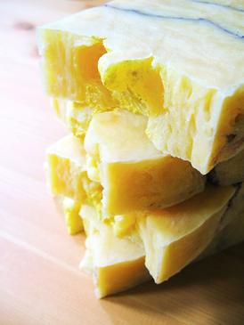 Le Citronnier Hot Process Soap - Citrus, Lavender & Patchouli Essential Oils... Summer Limited Edition, Coconut-Free Formula