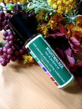Nightwalker Hair & Perfume Oil - White Patchouli, Oakmoss, Nutmeg, Woodland Herbs... Weenie Limited Edition