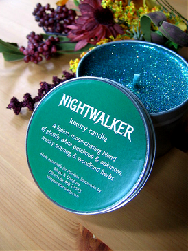 Nightwalker Luxury Candle - White Patchouli, Oakmoss, Nutmeg, Woodland Herbs... Weenie Limited Edition