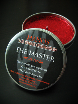 The Master Luxury Candle - Sticky Smoke, Oud, Sagebrush, Ozone... Limited Edition Manos: The Debbie Chronicles Benefit Project