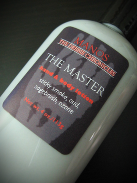 The Master Organic Hand and Body Lotion - Sticky Smoke, Oud, Sagebrush, Ozone... Limited Edition Manos: The Debbie Chronicles Benefit Project