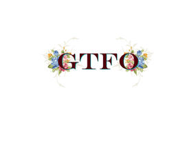 GTFO Luxury Candle - Bergamot, Orange, Lavender, Violet, Neroli, Rosemary...