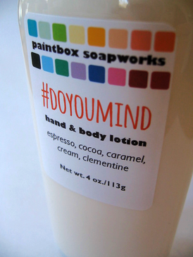 #DoYouMind Organic Hand and Body Lotion - Espresso, Cocoa, Caramel, Cream, Clementine... Spring Limited Edition