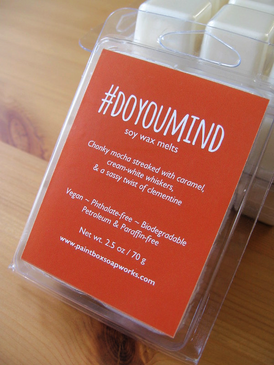 #DoYouMind Soy Wax Melts - Espresso, Cocoa, Caramel, Cream, Clementine... Spring Limited Edition