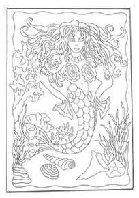 The Vixen Mermaid