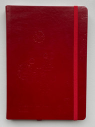 2021 Master Plan Diary - Red Light District Red Leather