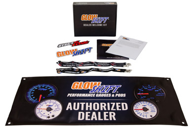 GlowShift Dealer Welcome Kit