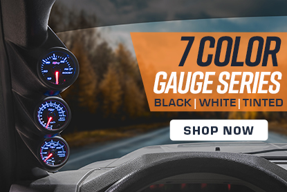 GlowShift 7 Color Gauge Series