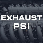 Exhaust Pressure PSI Gauges