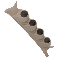 1999-2007 Ford Super Duty Power Stroke Tan Quad Gauge Pillar Pod