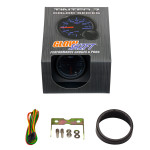 GlowShift Tinted 7 Color Fuel Level Gauge Unboxed