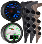1992-1997 Ford F-Series Quad Custom MaxTow Gauge Package Gallery