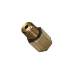 1/8-27 NPT Female to 1/8 BSPP Male Thread Adapter