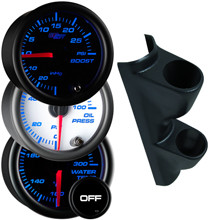 1987-1997 Ford F-Series Truck Custom Dual 7 Color Gauge Package