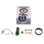 GlowShift White 7 Color Differential Temperature Gauge Unboxed