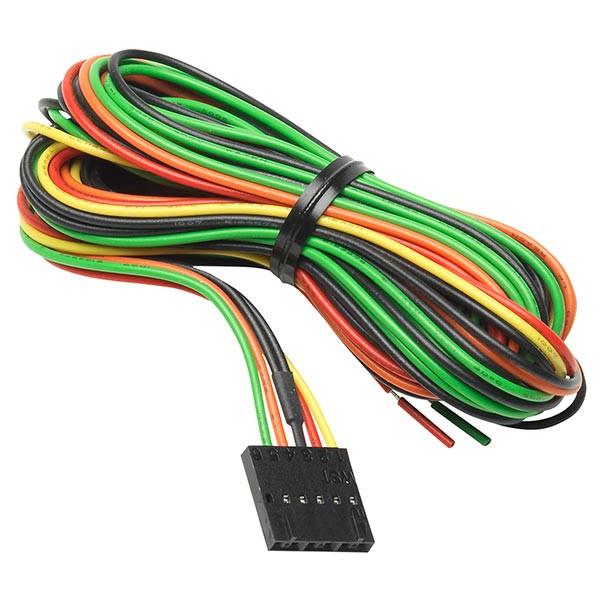 7 color gauge series extended sensor wiring harness Fuel Pump Wire Harness Sensor Wire Harness #9