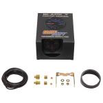 GlowShift Black 7 Color 60 PSI Boost Gauge Unboxed