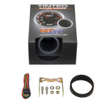 """GlowShift Tinted 2"""" Tachometer Gauge Unboxed"""
