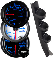 1988-1994 Chevrolet C/K Full Size Truck Custom 7 Color Gauge Package