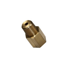 1/8-27 NPT Female to 1/8 BSPT Male Thread Adapter