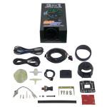 GlowShift 3in1 Black BAR Boost/Vac w/ Digital BAR Pressure & Celsius Temp Gauge Unboxed