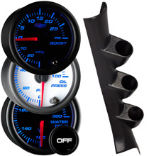2005-2010 Chevrolet Cobalt Coupe Custom 7 Color Gauge Package Gallery