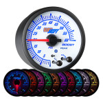 White Elite 10 Color 60 PSI Diesel Boost Gauge